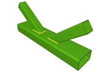 Nœud en K avec espacement